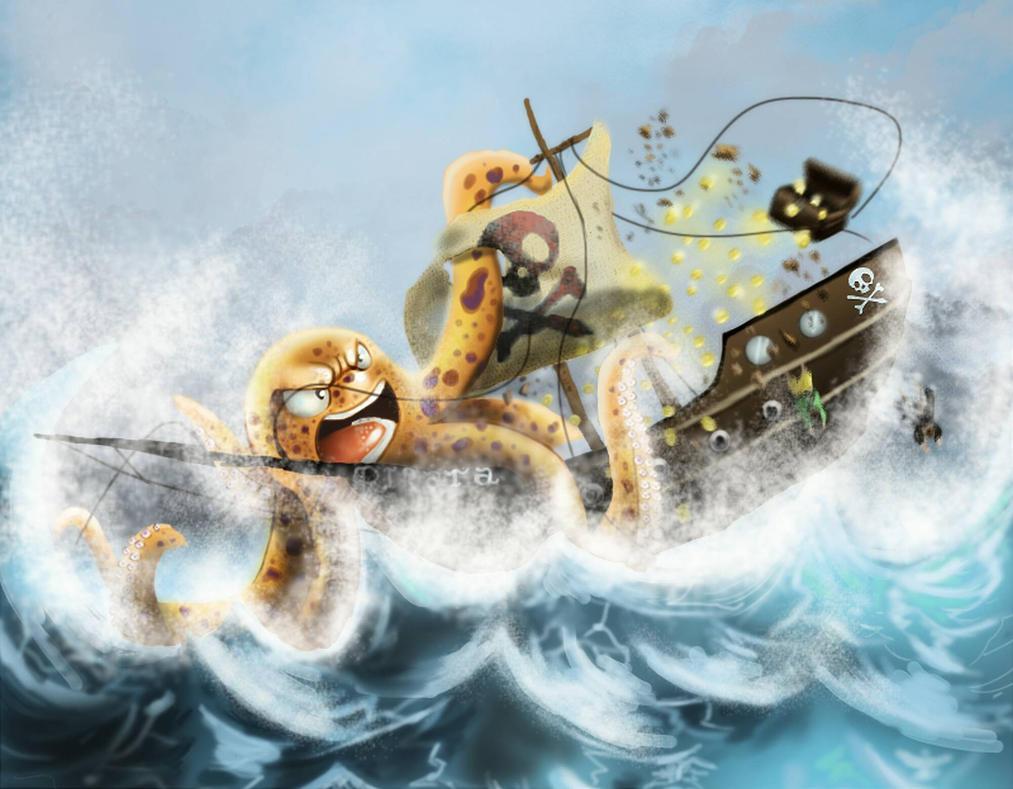 Navio pirata by pnsdifinsdiuv