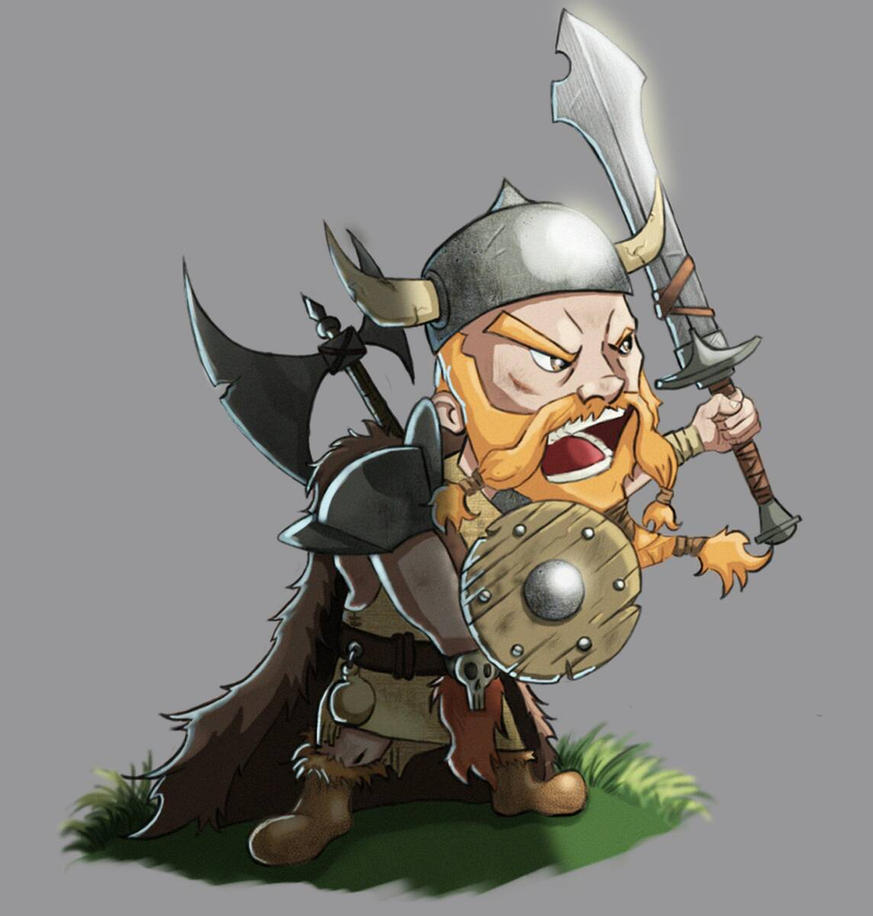 ilustrao viking by pnsdifinsdiuv