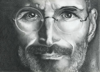 Steve Jobs - Portrait by fabri360