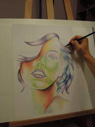 Work in progress - Pastels
