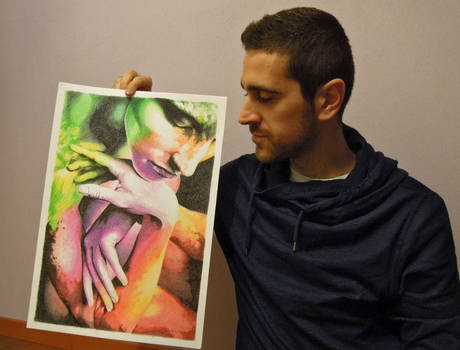 My artwork and me