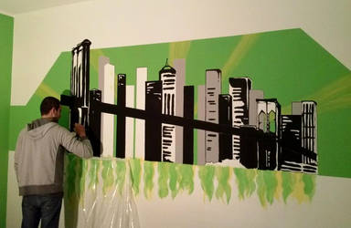 Painting - New York