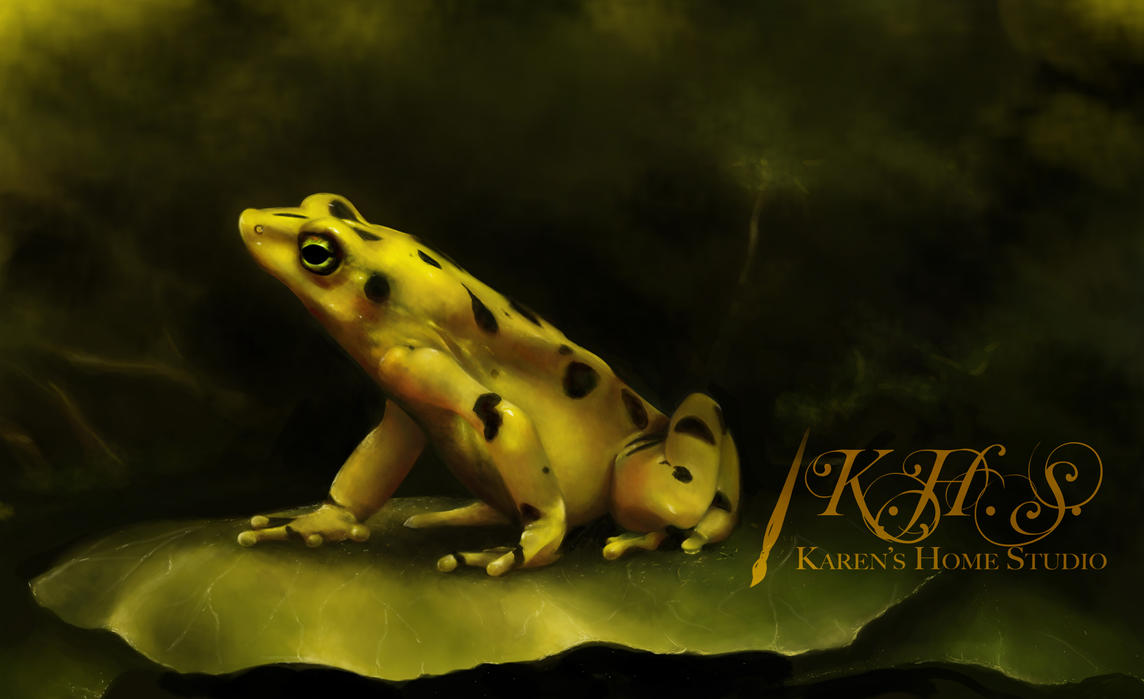 Poison Dart Frog by Rubydeathgurl