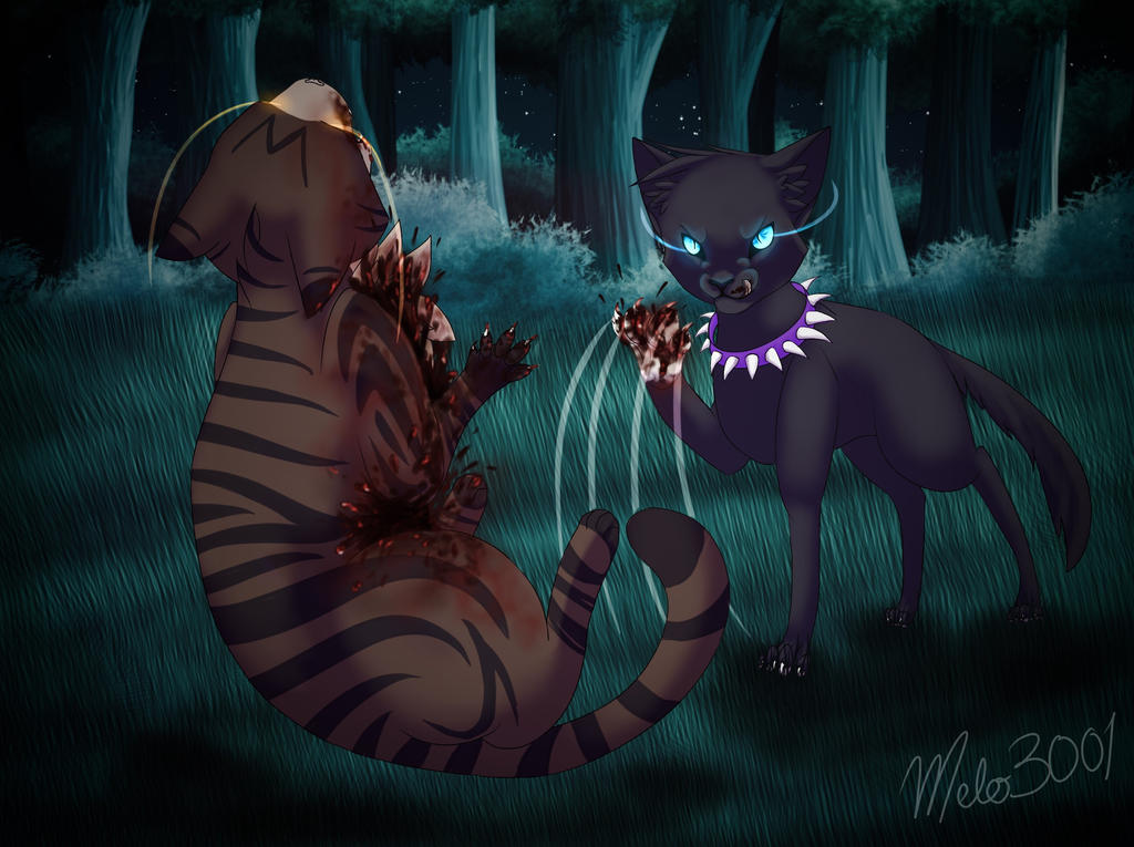 Tigerstar's death by melo3001