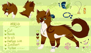 Melo - Reference Sheet [January 2018] by WildMelo
