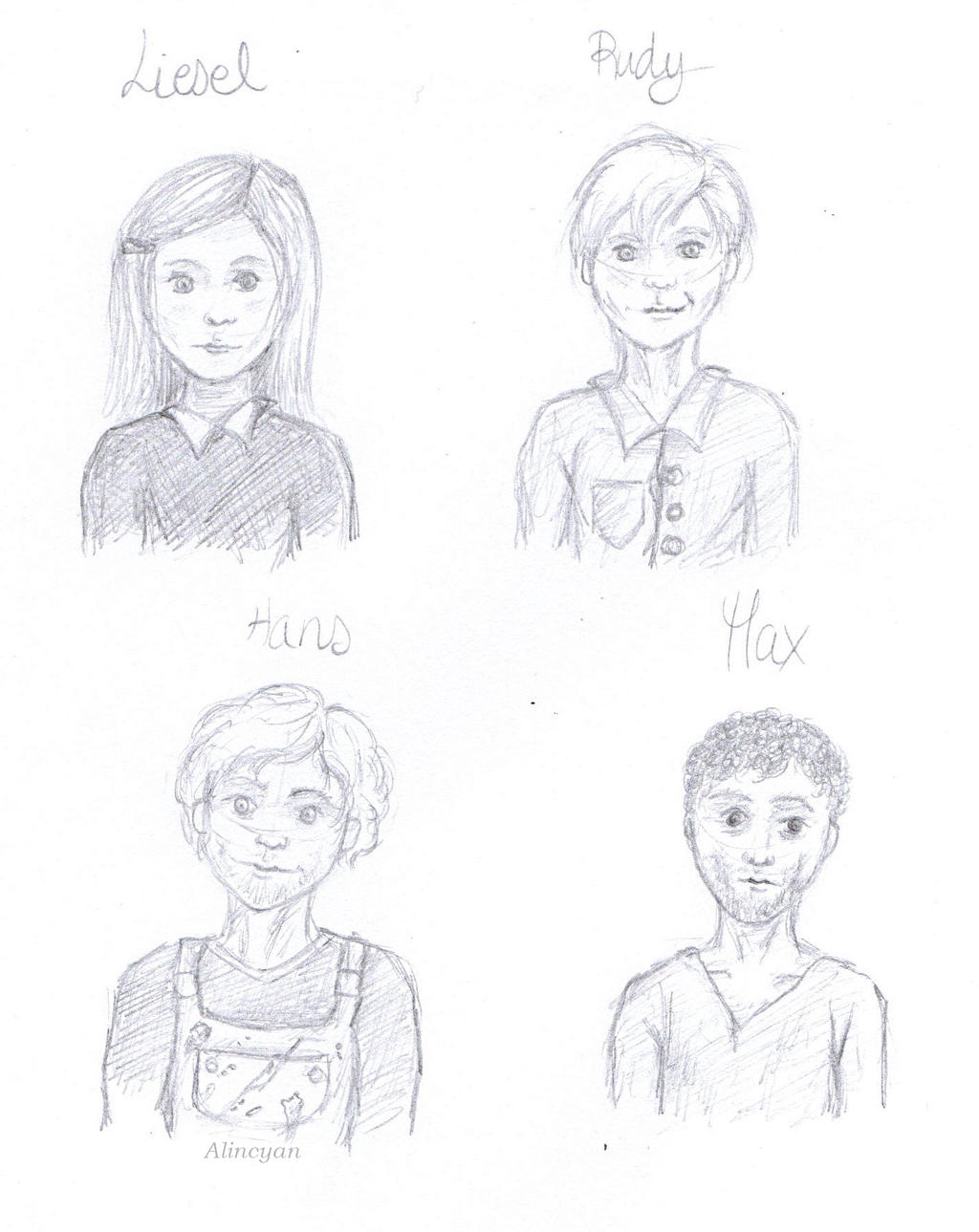 characters from the book thief the book thief movie max and liesel  the book thief characters by alincyan on the book thief characters by alincyan
