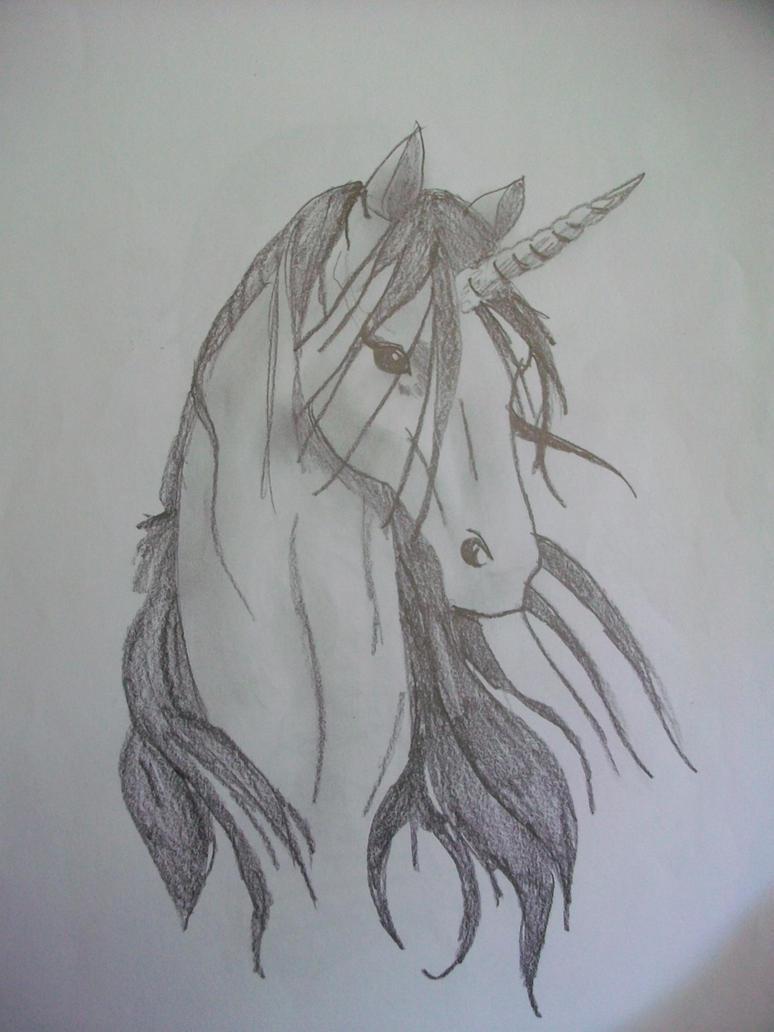 unicorn head. by CheekyKat on DeviantArt