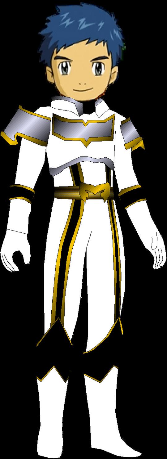 Henry Male White Mystic Ranger by rangeranimeWhite Mystic Ranger