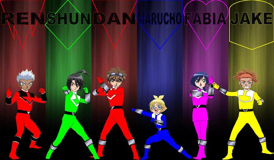 Bakugan Time Rangers for jankacperek111 by rangeranime