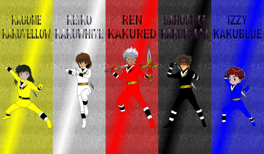 Anime Kakuranger for jankacperek111 by rangeranime