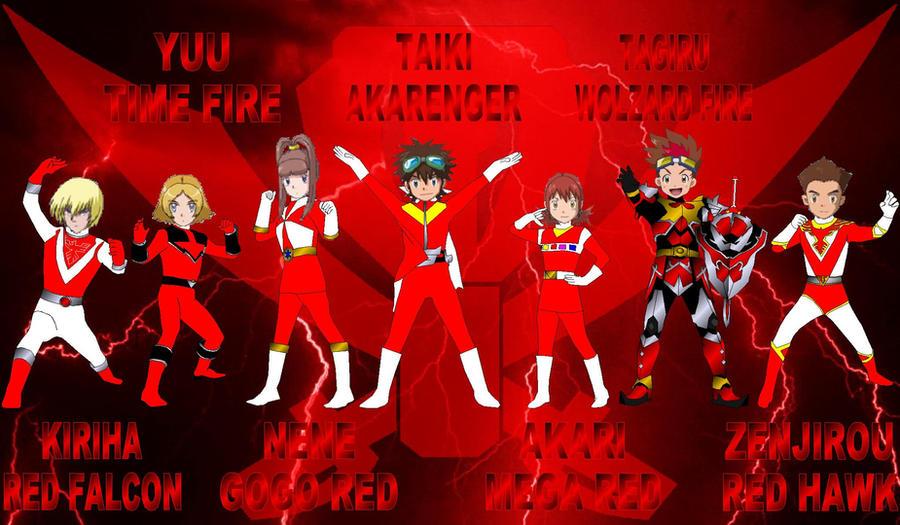 Digimon Gokaiger Red 2 for jankacperek111 by rangeranime