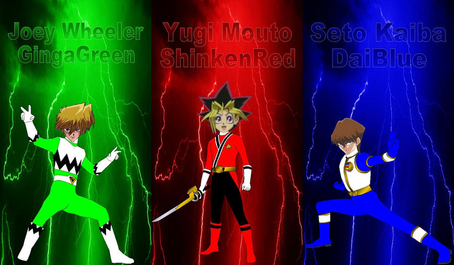 Yu-Gi-Oh! TOS Characters for Jackacperek111 by rangeranime