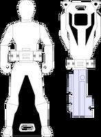Blank Ranger Key by RAatWTEN