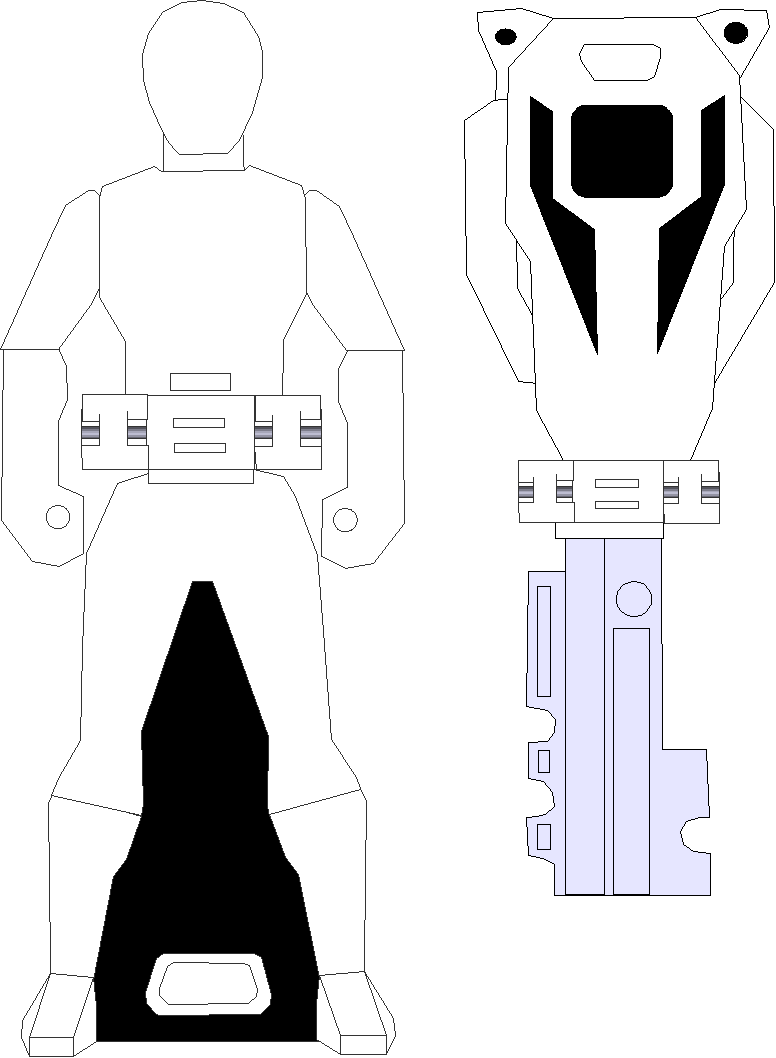Blank Ranger Key by rangeranime on DeviantArt