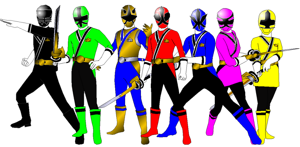 Power Rangers Samurai for Andruril