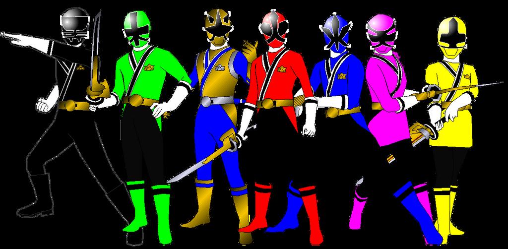 Power Rangers Samurai for Andr-uril by rangeranime on