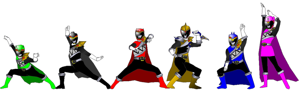 Dark Kyoryugers for Pikatwig by rangeranime