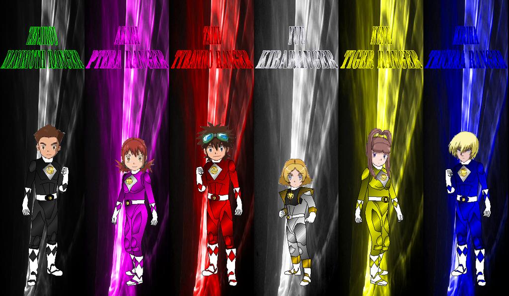 Digimon Gokaigeer Zyuranger Dairanger Movie by rangeranime on ...