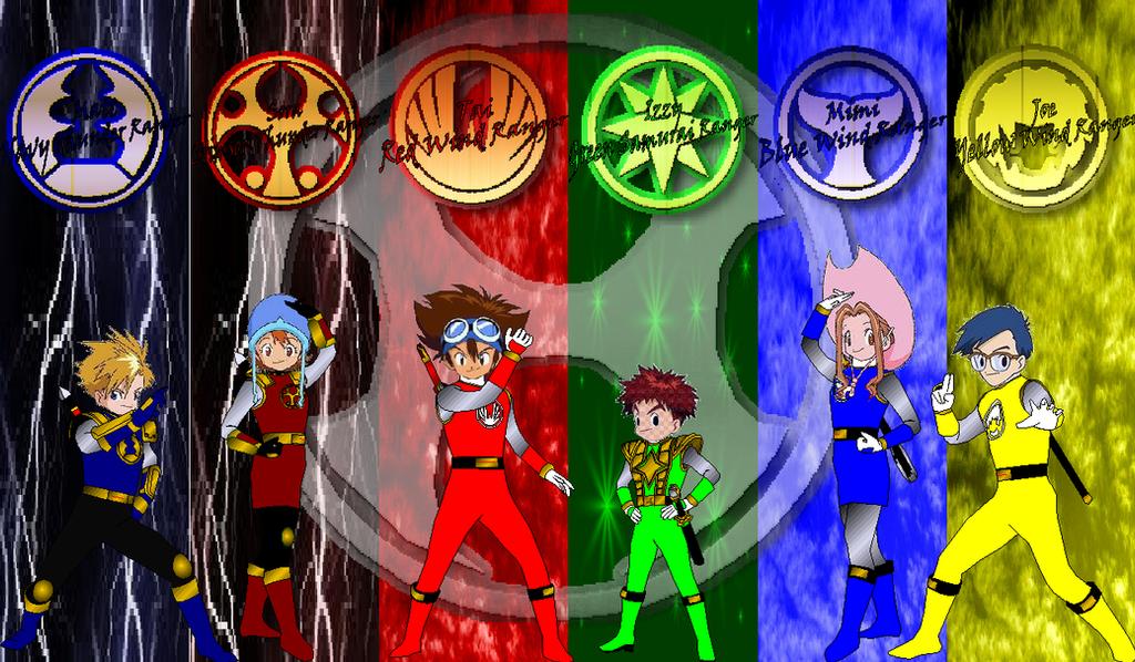 Digimon Ninja Storm for RedFalconRanger by rangeranime on DeviantArt