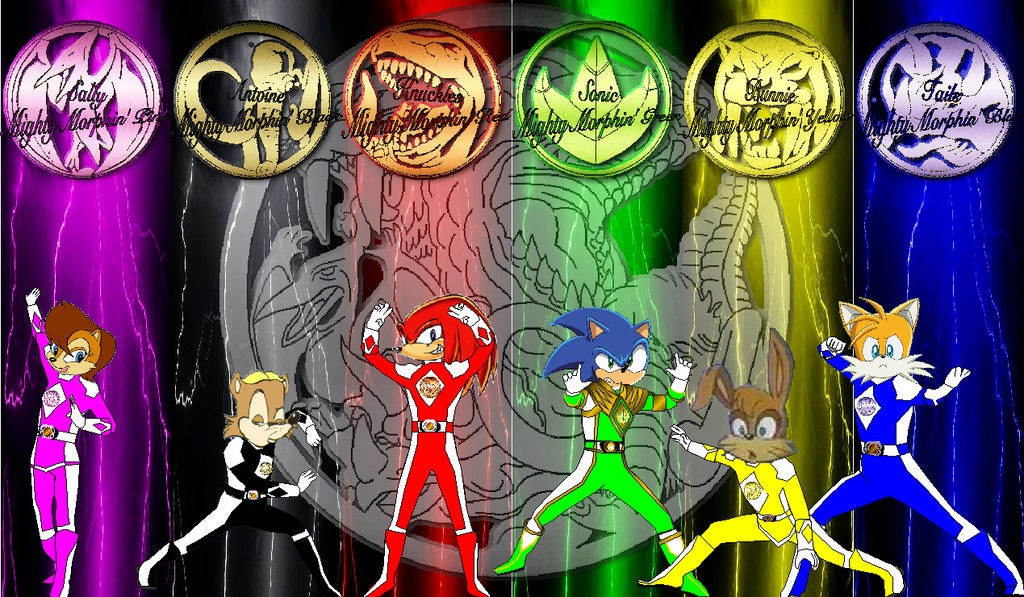 Sonic mmpr for comicglee and thedreaded1 by rangeranime on deviantart - Sonic power rangers dino charge ...