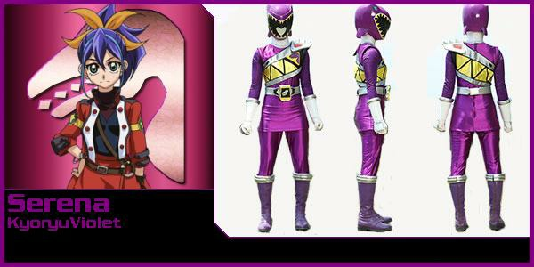 Serena Purple Ranger by rangeranime on DeviantArt