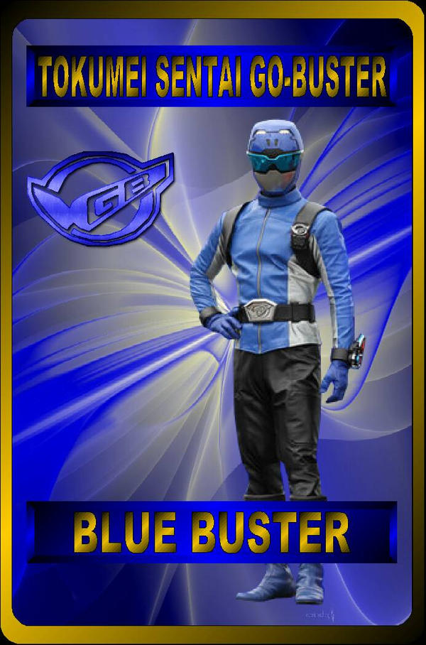 Blue Buster by rangeranime on DeviantArt