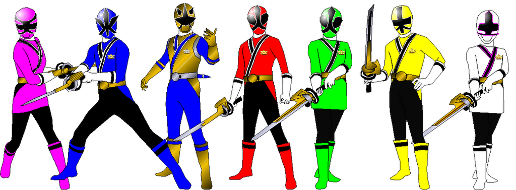 Samurai Ninja Steel For Adrenalinerush1996 By Rangeranime On Deviantart
