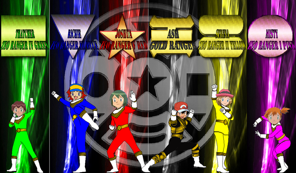 Pokemon Zeo For Ashfan By Rangeranime On DeviantArt