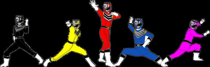Sokudo Sentai Acceleranger for Andruril93 by RAatWTEN