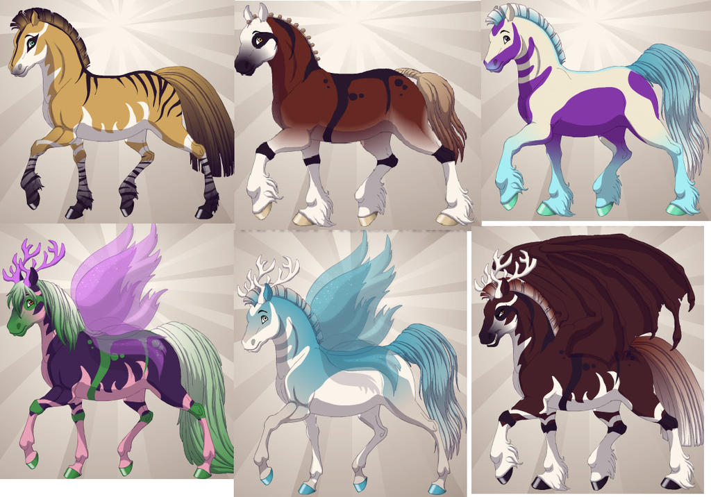 Horse fantasy adoptable 2 more available by funnymady29 on deviantart horse fantasy adoptable 2 more available by funnymady29 voltagebd Images