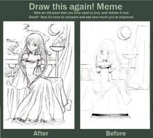 Draw This Again Meme by MystiqueGoddess