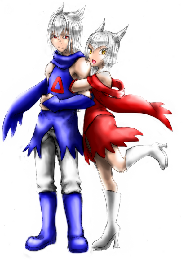 Latios and Latias Gijinka by MystiqueGoddess on DeviantArt