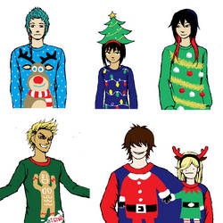 GtRO - Gift Giving: Ugly Sweater Collection by MystiqueGoddess