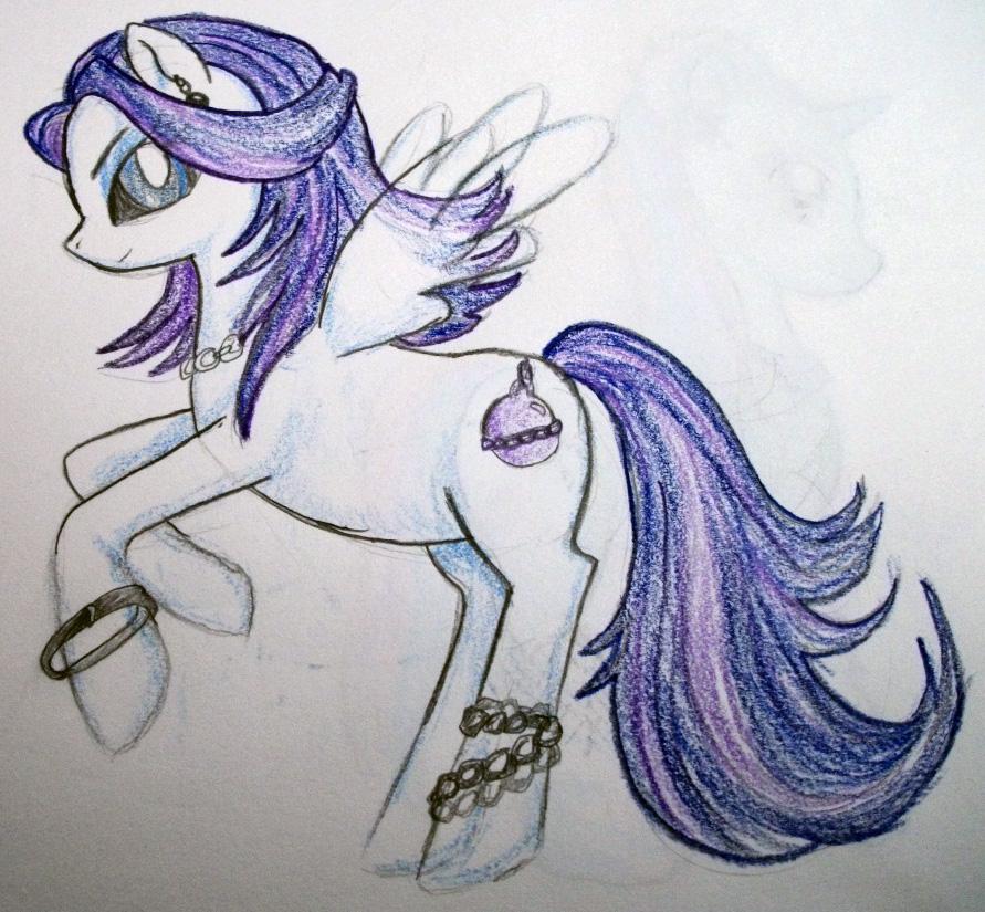 Spectra Pony by dead-kittens3
