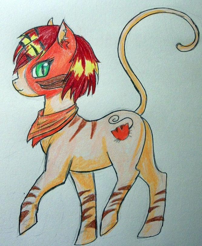 Toralei Pony by dead-kittens3