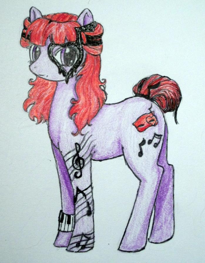 Operetta Pony by dead-kittens3