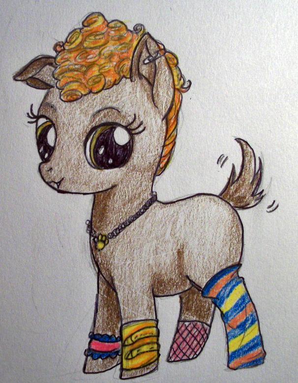 Howleen Pony by dead-kittens3