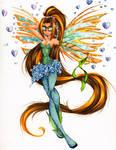 Commission: Lunaria Sirenix ver.1