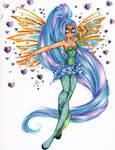 Commission: Lunaria Sirenix ver.2