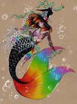 Witchtober: Mermaid witch by DivineKitten