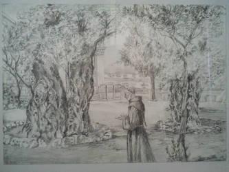 Garden ofGethsemane by PandziaXD1882