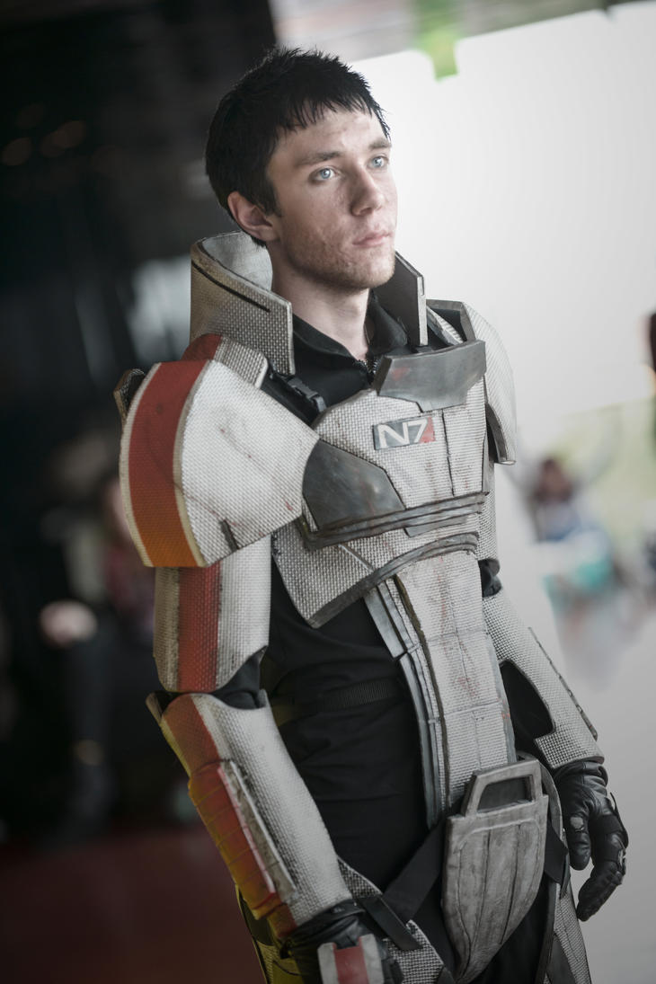 Shepard, the first human spectre by Kotowaru