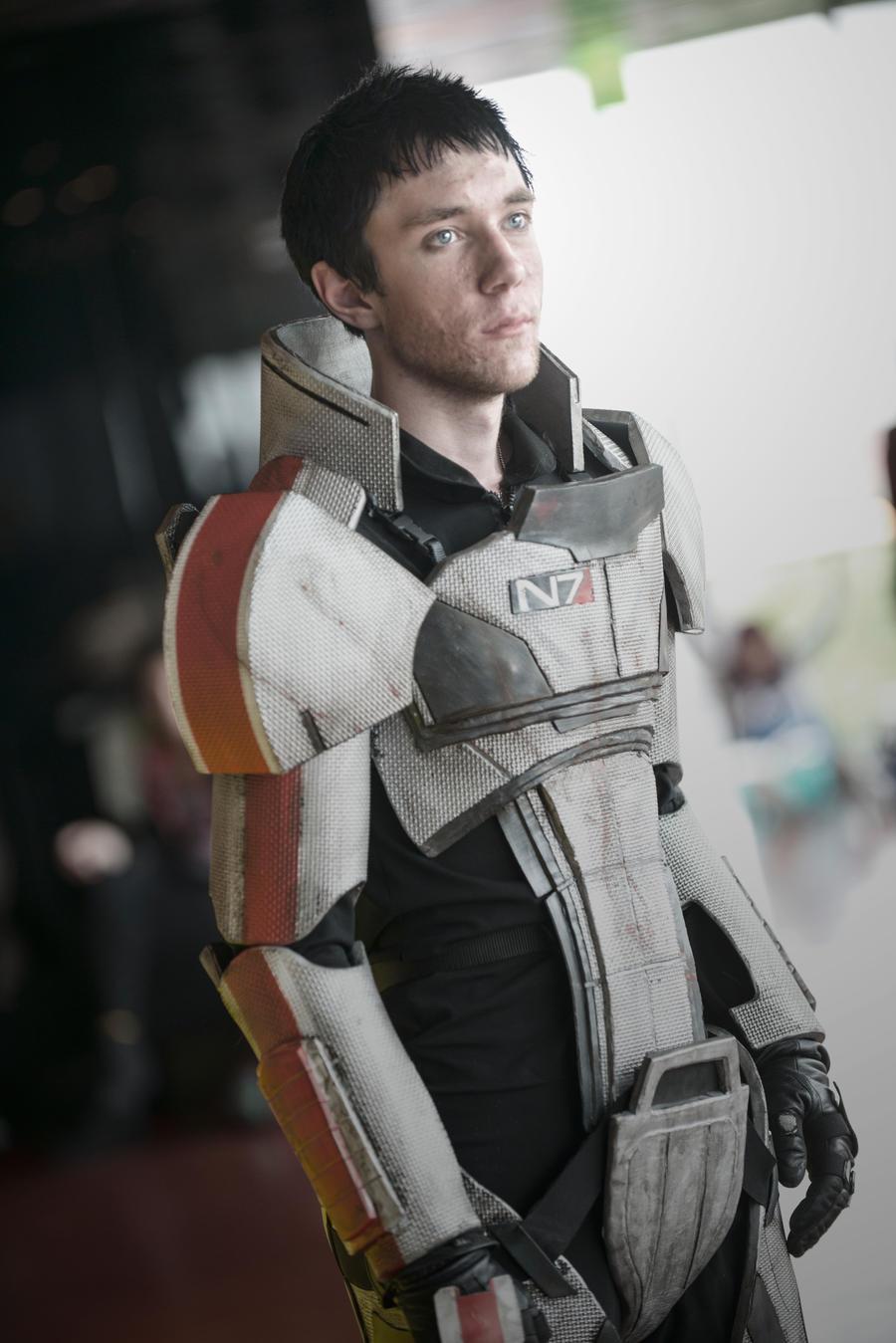 Shepard, the first human spectre by Kotowaru