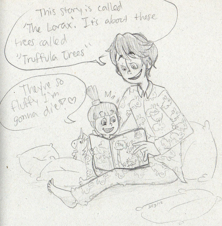 Once-Ler Reads Agnes 'The Lorax' By Sailor663 On DeviantArt