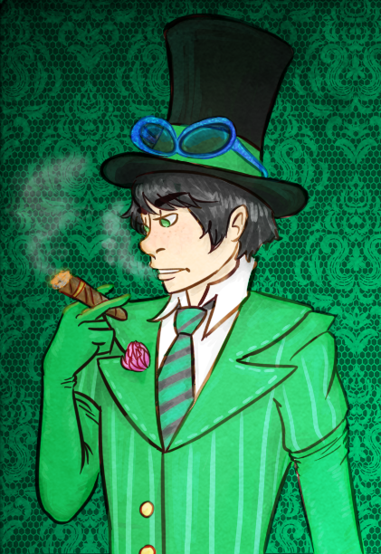 Smoking Greed-ler by sailor663 on DeviantArt
