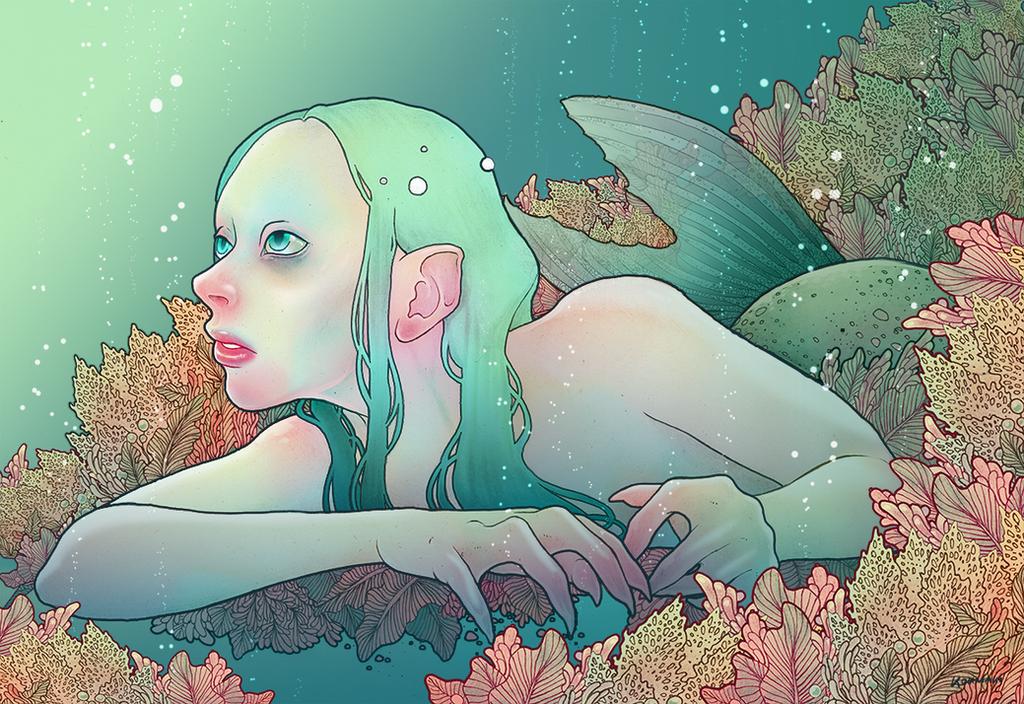 Under the sea by Koumaki