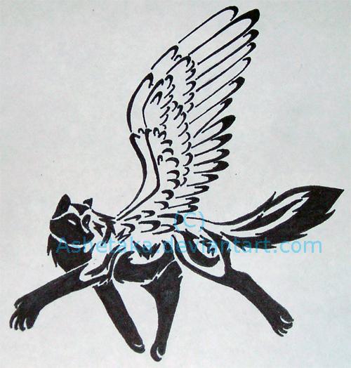 tribal husky tattoo by ashetaka on deviantart. Black Bedroom Furniture Sets. Home Design Ideas