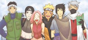 [fanart] Naruto - Updated Team 7/Team Kakashi Pic