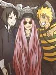 :naruto: narutoXaddams family halloween crossover