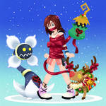 Request - Kairi gets wrapped